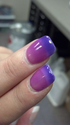 Day Trippin Full Size Color Change Nail Polish Gel Royal Blue