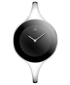 ck Calvin Klein Watch, Women's Swiss Mirror Stainless Steel Bangle Bracelet 34mm K2823130 - Women's Watches - Jewelry & Watches - Macy's