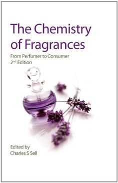 The Chemistry of Fragrances: From Perfumer to Consumer (RSC Paperbacks) by Charles S. Sell http://www.amazon.co.uk/dp/0854048243/ref=cm_sw_r_pi_dp_gtVdub1P5EVBP