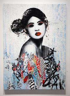 Hush Unseen II Original Artwork