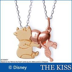 Winnie the Pooh & Piglet Necklace Winne The Pooh, Winnie The Pooh Quotes, Winnie The Pooh Friends, Disney Winnie The Pooh, Disney Necklace, Disney Jewelry, Disney Baby Clothes, Disney Outfits, Cute Disney