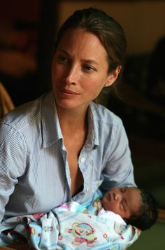 Christy Turlington, supermodel, marathon runner, documentarian, and founder of Every Mother Counts, is a powerful advocate for maternal and child health around the world.