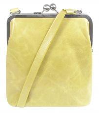 BT2 vintage lemon, kleine Handtasche in gelb, Ledertasche #Tasche