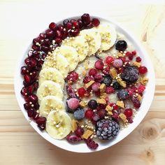 Tahini Cranberry Oatmeal | earthlingali