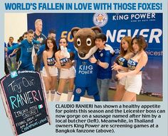Leicester City miracle goes global: Amazing title bid is now even the talk of New York | Daily Mail Online