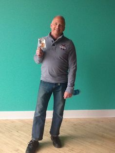 Steve from our sales department was the April Employee of the Month!