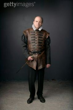 Leather doublet