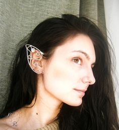 Elven/Elf Ear Cuffs/Wraps  Light Faery by NeehellinsRealm on Etsy, $30.00