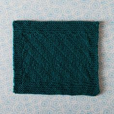 Fishbones Dishcloth Pattern - Knitting Patterns and Crochet Patterns from KnitPicks.com