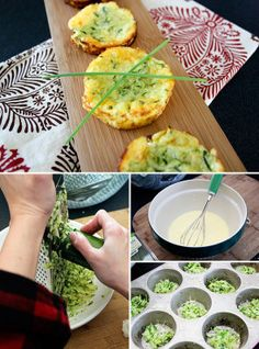 Crustless Zucchini Mini Quiches