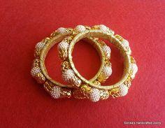 Handmade pearl bangles...