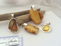 Pendants silver925 & Baltic Amber. Handmaded. For sale.