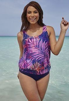 6d8c76896c144 Tankini Sets - Pindo Blouson Tankini Swimsuits For All, Cruise Wear, Tankini