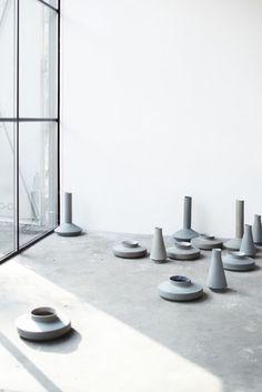 via Elvs    photo Janne Peters photography   vases for karakter