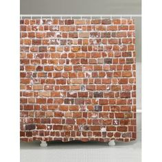 GET $50 NOW | Join Dresslily: Get YOUR $50 NOW!http://m.dresslily.com/brick-wall-design-anti-bacteria-shower-curtain-product2027062.html?seid=p86Kdp2jvAtp4hMf5bU5SK447G