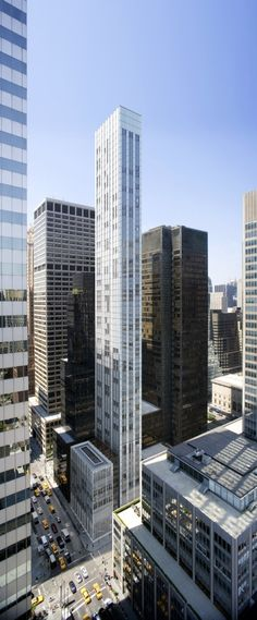 Condominum Tower on 610 Lexington in New York by Norman Foster