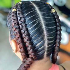 Kids Braided Hairstyles, African Braids Hairstyles, Black Girls Hairstyles, Sandro, Beauty Makeup, Hair Beauty, Braids For Kids, Beautiful Braids, Hair Growth