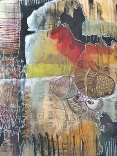 emergence journal spread // by bun // artist: roxanne coble