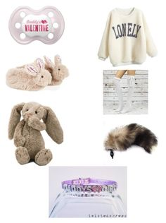 """""""DD/LG Valentine's Day"""" by chemicalgarden ❤ liked on Polyvore featuring Monsoon, Jellycat, women's clothing, women, female, woman, misses and juniors"""