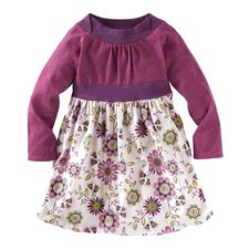 Flora Fest Twirly Dress - Vapor by Tea Collection