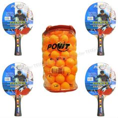 Povit Premier Masa Tenisi Raket Seti - Ahşap Gövde   Hız:80  Spin:70  Kontrol:60  Okullara Özel 5 Adet Gönderilmektedir - Price : TL113.00. Buy now at http://www.teleplus.com.tr/index.php/povit-premier-masa-tenisi-raket-seti.html