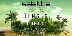 #jungleparty #selekta sabato 28.11.15 #terrazzaberetti #dimitrimazzoni