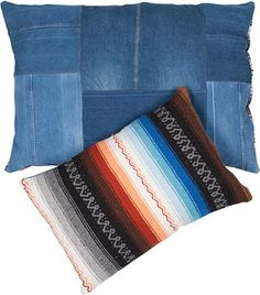 Recycled Jeans & Recycled Serape made in DTLA