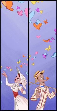 Butterfly Diptych by BetterthanBunnies on deviantART