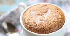Recette de Mug cake light au café. Facile et rapide à réaliser, goûteuse et diététique. Ingrédients, préparation et recettes associées.
