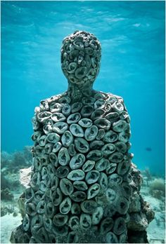 The Listener - The form symbolizes a passive relationship between humans and nature whilst aiming to engage local students in reef conservation and draw focus to the much-needed ability to listen.