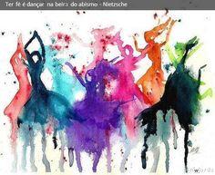 Resultado de imagem para dançar, cantar, escrever, esculpir, pintar, desenhar, cozinhar, tricô
