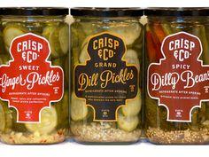 Crisp And Company Pickles by David Cran