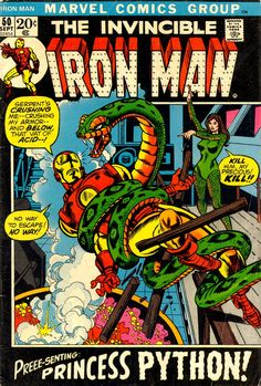 Iron Man #50 by Gil Kane