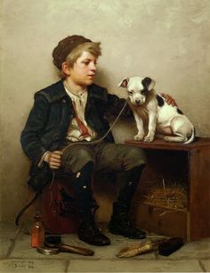 john george brown pintor - Buscar con Google