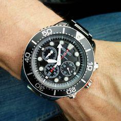 いいね!27件、コメント5件 ― Markさん(@skotski9)のInstagramアカウント: 「#instawatch #japanwatch #seikosolar #diverwatch #watch #seiko #chronograph」