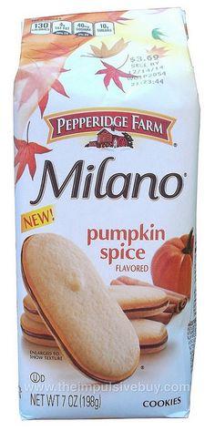 Pepperidge Farm Pumpkin Spice Milano Cookies by theimpulsivebuy, via Flickr