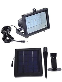 Brothersszz 30 LED Lithium Battery Solar Lighting,automatically Activates From Dusk to Dawn. Solar Battery, Lead Acid Battery, Solar Lights, Solar Security Light, Patio Accessories, Landscape Lighting, Solar Power, Dusk, Improve Yourself