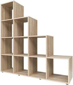 10 Cube Stepped Sonoma Oak Bookcase/Storage Unit German Quality Very Sturdy. U Understairs Storage BookcaseStorage Cube German Oak Quality Sonoma Stepped Sturdy Unit Step Bookcase, Step Shelves, Cube Shelves, Bookcase Storage, Stair Storage, Bookshelves, Shelving, Shelf, Under Staircase Ideas