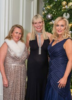 C Social Front. Sovereign Order White Tie Ball — Karen Haake, Debbie Jagel & Michelle Rose