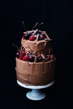 ~My Chocolate Birthday Cake~