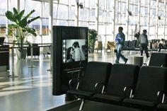 Quebec Airport / Aéroport de Québec - #Airport #Aeroport #Furniture #AstralOutOfHome #AstralAffichage #Publicite #Advertising #Ads #Billboard #PanneauAffichage #YQB #Quebec