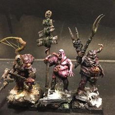 Nurgle warrior conversions.