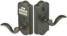Emtek E2200 Electronic Keypad Leverset with Storeroom/Gate Function