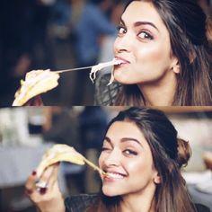 Food of mine naina! Deepika Ranveer, Deepika Padukone Style, Aishwarya Rai, Indian Celebrities, Bollywood Celebrities, Beautiful Bollywood Actress, Beautiful Actresses, Indian Film Actress, Indian Actresses