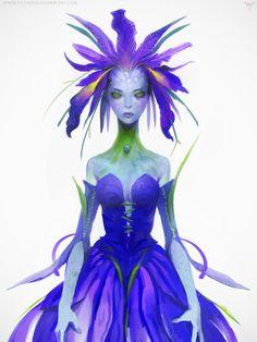 Iris Fairy by telthona.deviantart.com on @DeviantArt