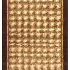Home Dynamix Madrid 2-ft 3-in W x 40-ft L Brown Runner - maybe this from lowes for stairs....