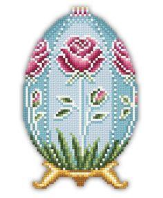 Rose Faberge Easter egg
