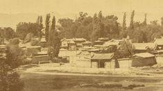Town of Ganzhou after Dungan Uprising. Gansu Province, China, 1875.