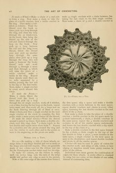 The Art of Crocheting.pretty little wheel found in Open Library book. Vintage Crochet Patterns, Lace Patterns, Crochet Motif, Free Crochet, Stitch Patterns, Hairpin Lace, Michael Kors Watch, Hair Pins, Crochet Projects