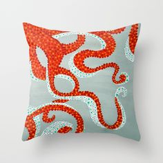 Buy OCTOPUS by Madeleine Thoma as a high quality Throw Pillow. Worldwide shipping available at Society6.com. Just one of millions of products available.